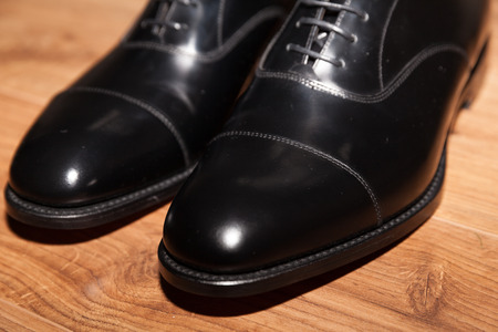 40032464 - expensive hand made leather business shoes